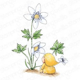 Stamping Bella - BUNDLE GIRL WITH A WOOD ANEMONE