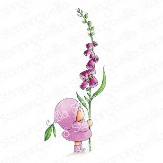 Stamping Bella - BUNDLE GIRL WITH A FOXGLOVE