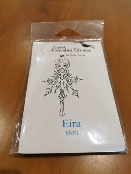 Eira - Red rubber stamp
