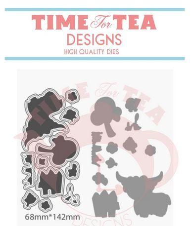 Time For Tea - Moovellous Coordinating Die set