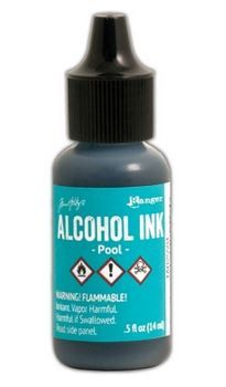 Pool - Tim Holtz Alcohol Ink
