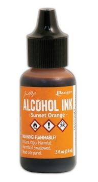 Sunset Orange - Tim Holtz Alcohol Ink