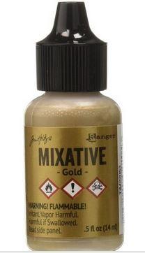 Gold - Tim Holtz Metallic Mixative