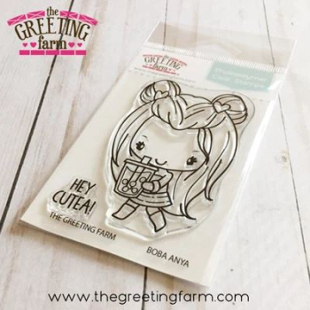 Boba Anya clear stamp set - The Greeting Farm