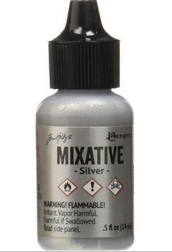 Silver - Tim Holtz Metallic Mixative