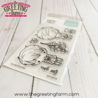 Gift Ian FB (front and back) clear stamp set - The Greeting Farm