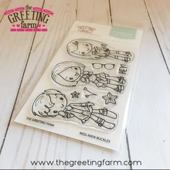 The Greeting Farm - Miss Anya Buckles clear stamp set