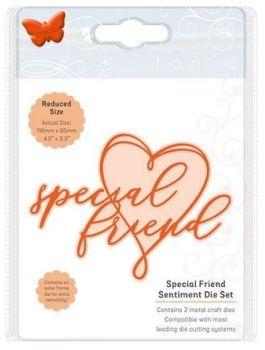 Special Friend - Sentiment die set