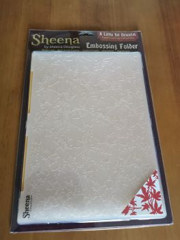 Maple leaf - A4 embossing folder