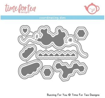 **NEW** Time For Tea - Buzzing For You Coordinating Die set