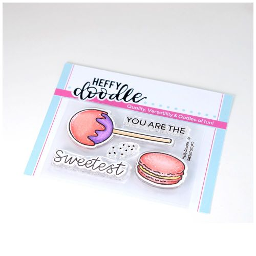 ***NEW***Heffy Doodle - Sweet Stuff clear stamps