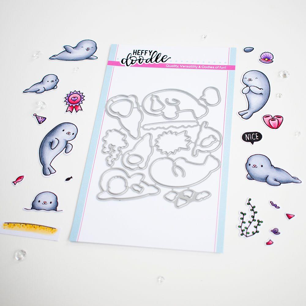 ***NEW*** Heffy Doodle - Sealy friends die set