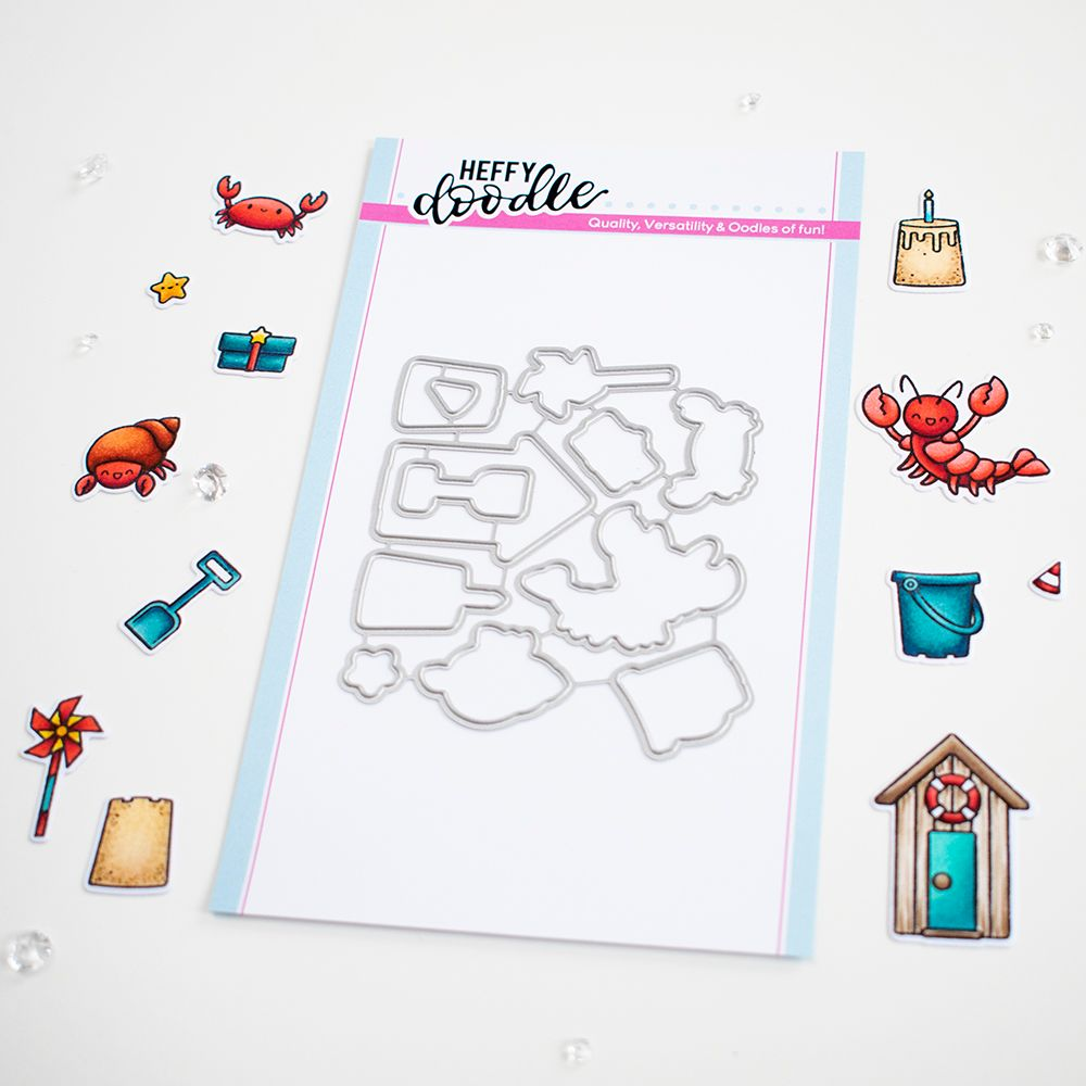 ***NEW***Heffy Doodle - A Little Shellfish die set