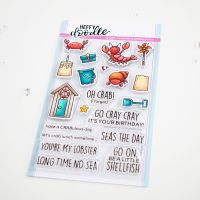 Heffy Doodle - A Little Shellfish clear stamps