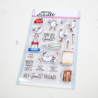 Heffy Doodle - You go, Gull clear stamps