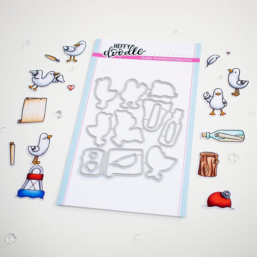 ***NEW***Heffy Doodle - You go, Gull die set