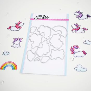 ***NEW***Heffy Doodle - Fluffy Puffy Unicorn dies