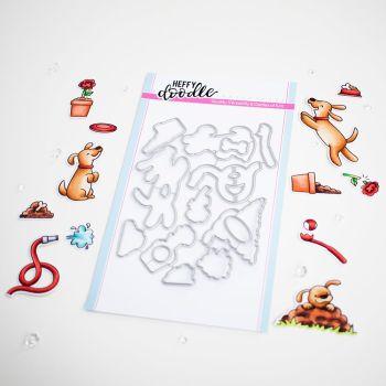 ***NEW***Heffy Doodle - Hot Diggity Dog die set