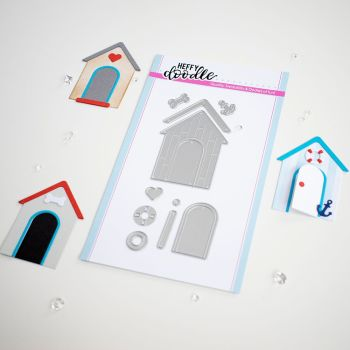 ***NEW***Heffy Doodle - Build a Cabin die set