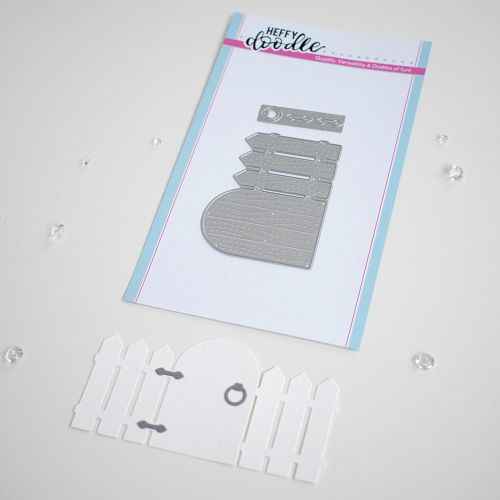 ***NEW***Heffy Doodle - Close the Gate die set