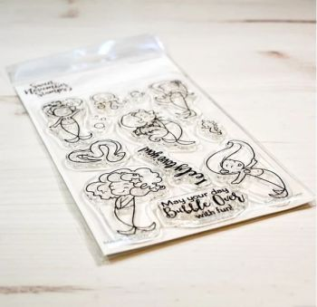 Sweet November - Merwee set #1 Clear stamp set
