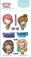 Mini-Remix Friend clear stamp set - The Greeting Farm