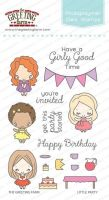 Little party clear stamp set - The Greeting Farm