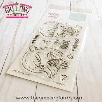 K-POP Idols clear stamp set - The Greeting Farm