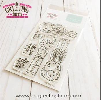 Like Like You clear stamp set - The Greeting Farm