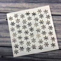 SPARKLING SNOWFLAKES Stencil! - Kraftin' Kimmie