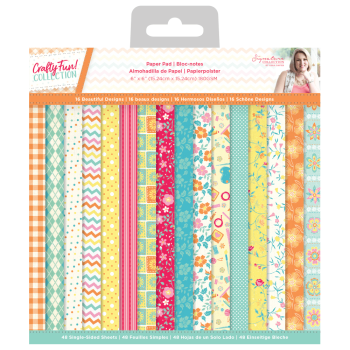 "Sara Signature Collection 6"" x 6"" Paper Pad - Crafty Fun"