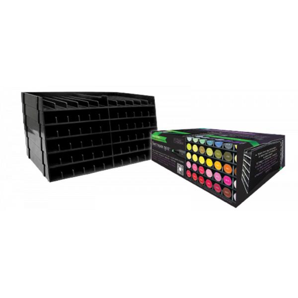 Spectrum Noir Universal Black Pen Trays - 6 Trays