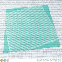 Create a smile - Narrow Stripes stencil