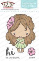 Hi Anya clear stamp set - The Greeting Farm