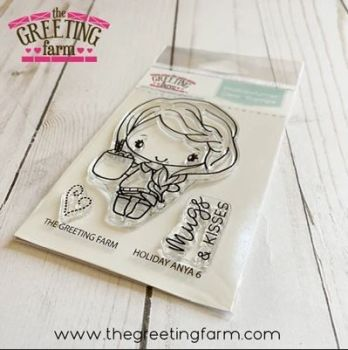 Holiday Anya 6 clear stamp set - The Greeting Farm