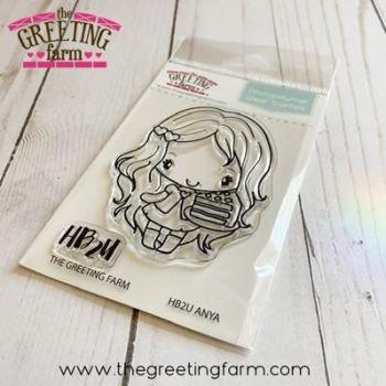 HB2U Anya clear stamp set - The Greeting Farm