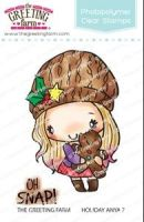 Holiday Anya 7 clear stamp set - The Greeting Farm