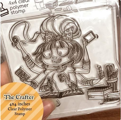 Moonlight Whispers - The crafter - Clear Stamp