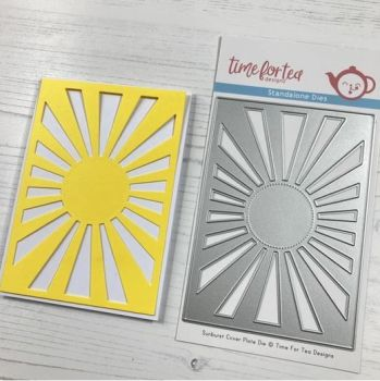 ***NEW*** Time For Tea - Sunburst cover plate die Set