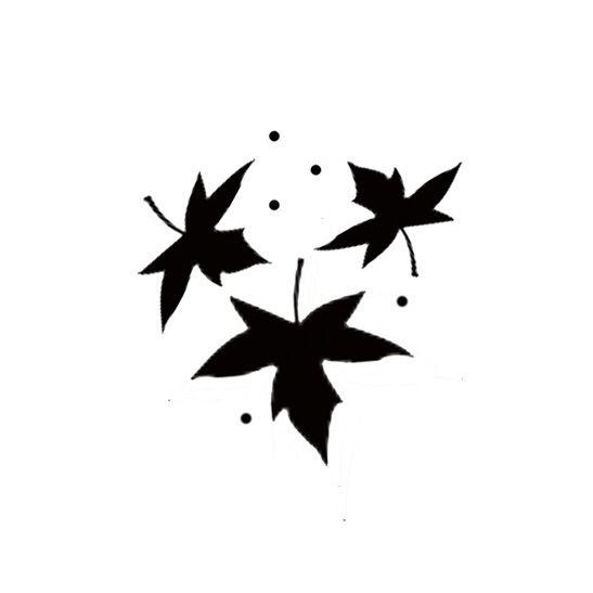 Lavinia Stamps - Maple Leaf miniature