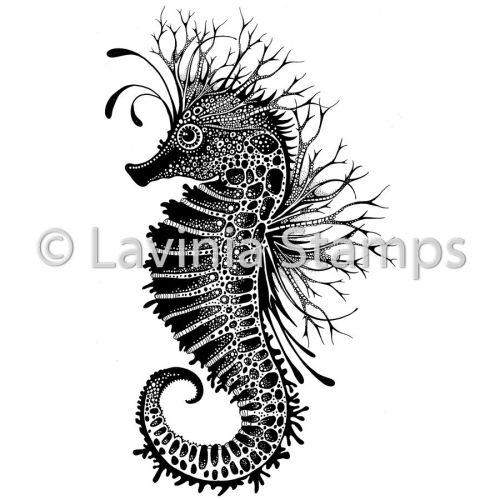 Lavinia Stamps - Sebastian the Seahorse