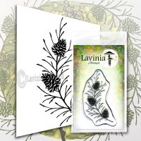 Lavinia stamps - Fir Cone Branch