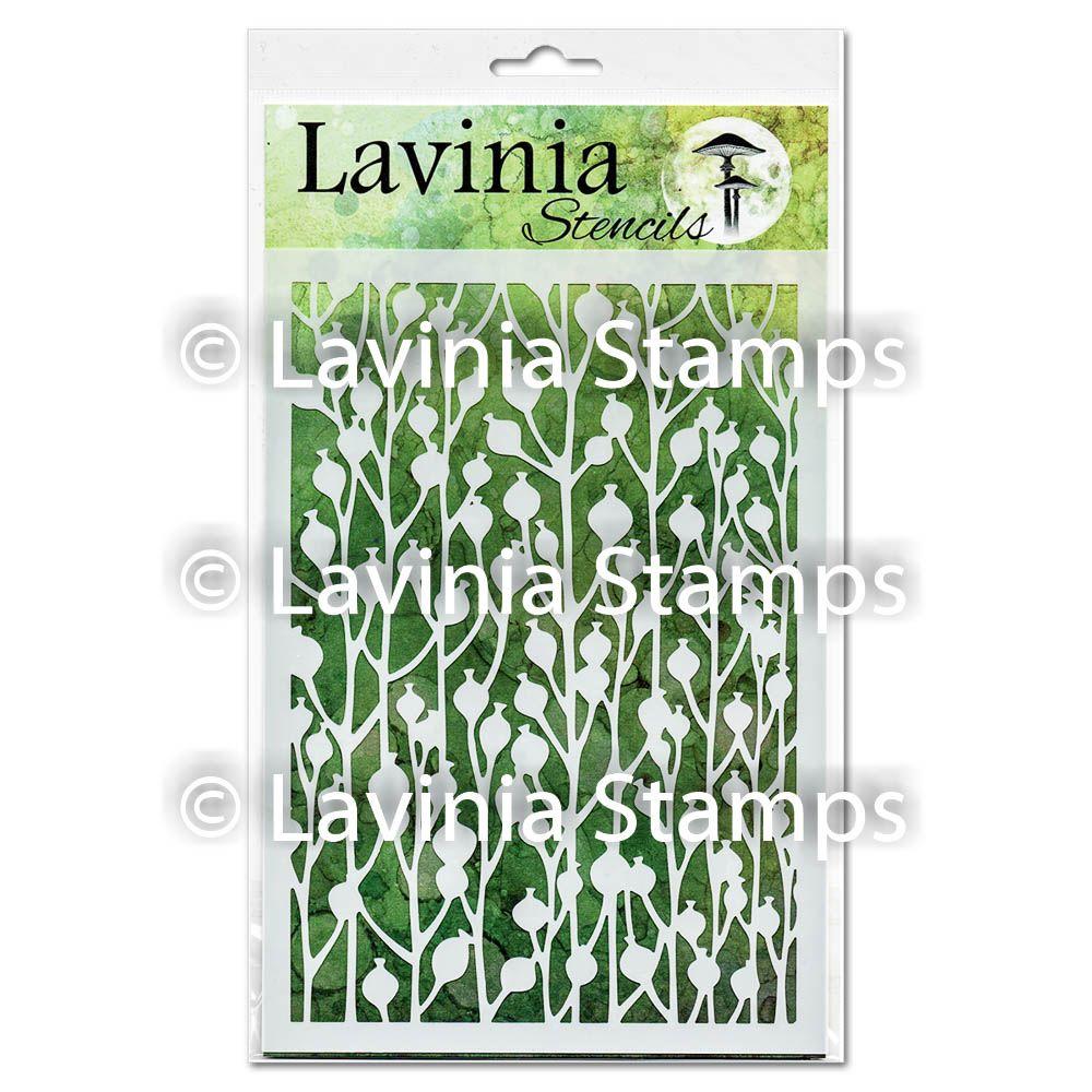 ***NEW*** Lavinia Stamps - Berry Stencil