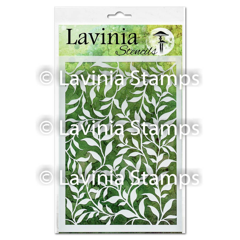 ***NEW*** Lavinia Stamps - Laurel Stencil