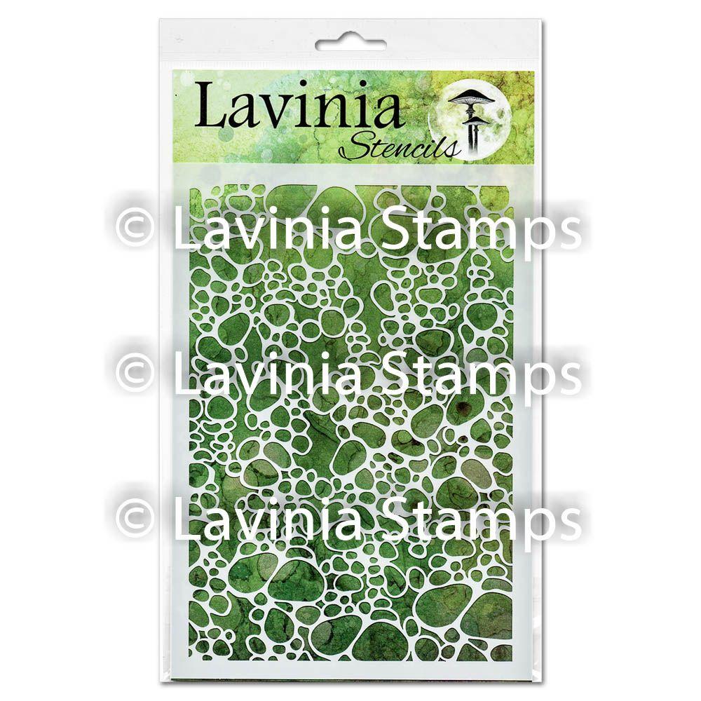 ***NEW*** Lavinia Stamps - Pebble Stencil