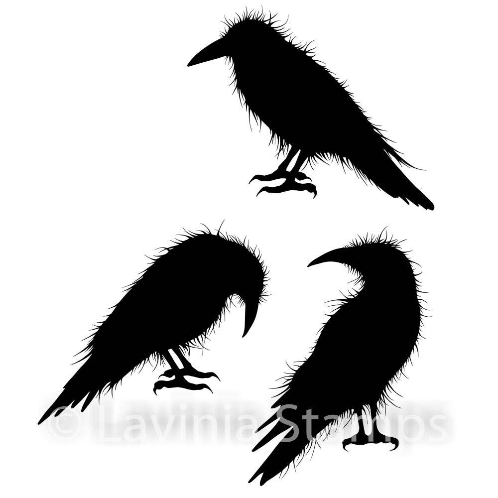 Lavinia Stamps - Crow set