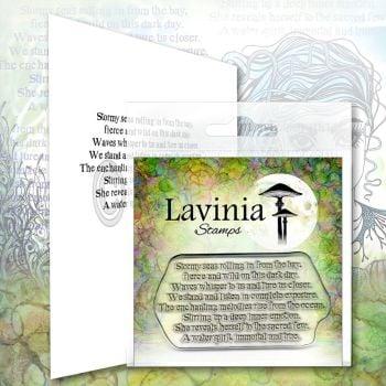 ***NEW*** Lavinia Stamps - Water Spirit Verse