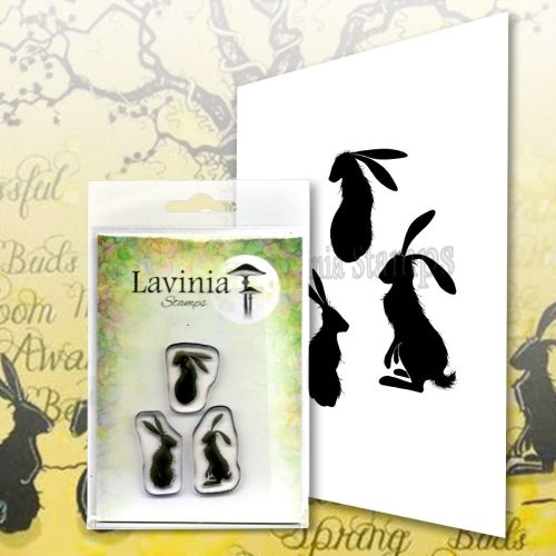 ***NEW*** Lavinia Stamps - Wild Hares Set small