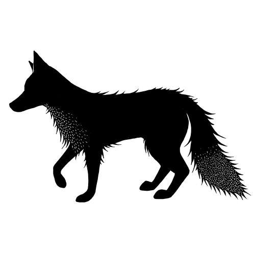 Lavinia stamps - Fox 2 (Peri)