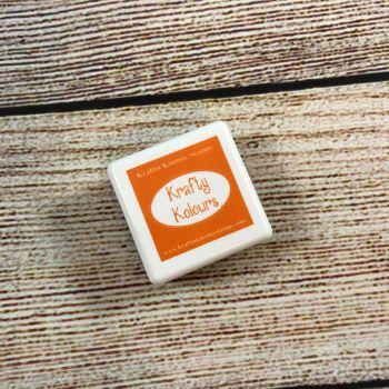***NEW*** Tempting Tangerine Mini Ink Cube! - Kraftin' Kimmie